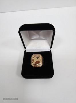 Кольцо печатка мужская 18,5 8,91г
