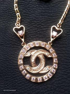 Колье Chanel Золотое